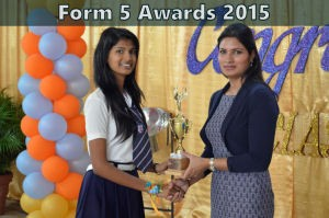 form 5 awards & certificates